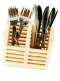 Forks and Knives Royalty Free Stock Photos
