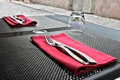 Forks and Knives Royalty Free Stock Image