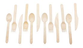 Forks and Spoons. Royalty Free Stock Photography