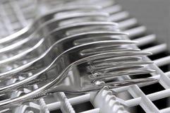 Forks taking shower Stock Image