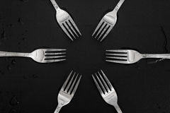 Forks Stock Photos