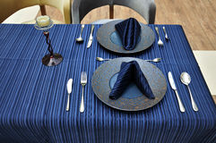 Fork,Tableware ,Table napkin Royalty Free Stock Photography
