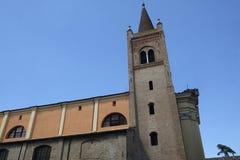 Forli Italy: Santissima Trinita church Royalty Free Stock Image