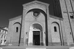 Forli Italy: church of San Mercuriale Royalty Free Stock Photos