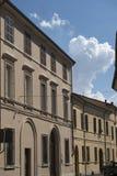 Forli Italy: historic building Stock Image