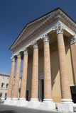 Forli Italy: the cathedral Stock Image