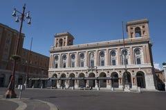 Forli Italy: Aurelio Saffi square Royalty Free Stock Images