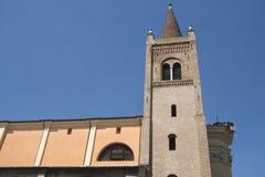 Forli Italy: Santissima Trinita church Stock Photography