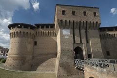 Forlimpopoli Italy: the castle Stock Images