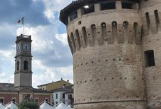 Forlimpopoli Italy: the castle Royalty Free Stock Photos