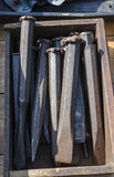 Formões frios Fotografia de Stock