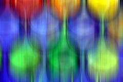 Form świateł projekta punkty, abstrakcjonistyczny figlarnie tło Fotografia Stock