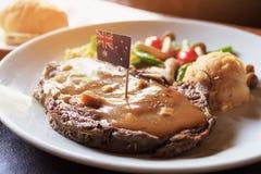 Form Australien för import för biff för frukoststorgubbenötkött royaltyfri fotografi