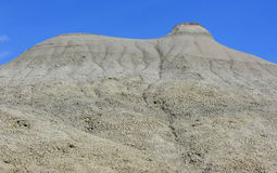 Form in the Badlands Royalty Free Stock Photo