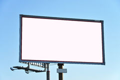 In the form of billboard advertising Stock Photo