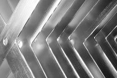 Form des Metall X stockbilder