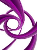 form för spiral 3D Royaltyfria Foton