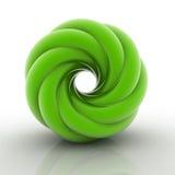 form för spiral 3D Arkivbilder