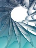 form för spiral 3D Royaltyfri Illustrationer
