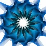 form för spiral 3D Arkivfoto