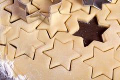 Form för stjärna för Cuttingkakadeg Royaltyfri Bild