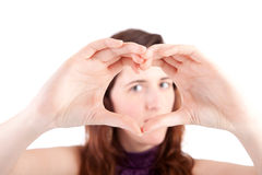 Form of heart Royalty Free Stock Photos