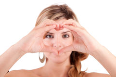 Form of heart Royalty Free Stock Images