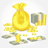 Form of Money Stock Image