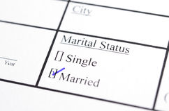Form of status stock images