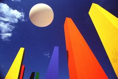 Form und Farbe Stockbilder