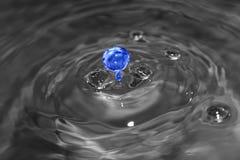 Form und Farbe des Wassers Stockbild