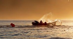Formação australiana das salvas-vidas da ressaca Foto de Stock Royalty Free