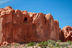 A formação da caverna arqueia o parque nacional Fotos de Stock Royalty Free