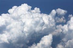 Formação da nuvem de Cumulus fotografia de stock