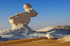 A formação da pedra calcária gosta de um coelho Fotografia de Stock Royalty Free