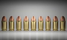 Formação das balas Imagem de Stock Royalty Free