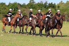 Formação de Polocrosse Fotografia de Stock Royalty Free