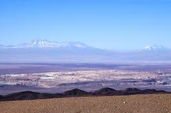 Deserto de Atacama o Chile Foto de Stock Royalty Free