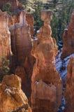 Formação de rocha da garganta de Bryce Fotografia de Stock