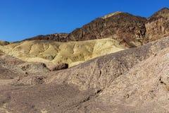 Formação de rocha da paleta do ` s do artista - parque nacional de Vale da Morte, Ca fotografia de stock royalty free