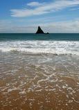 Formação de rocha de Broadhaven fotografia de stock