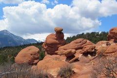 Formação de rocha em Colorado Fotos de Stock