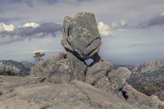 Formação de rocha estranha Imagem de Stock