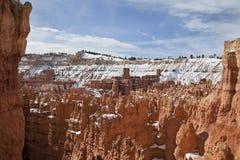 Formação de rocha no parque nacional da garganta de Bryce, Utá Fotografia de Stock