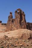 Formação de rocha no parque nacional dos arcos Fotos de Stock