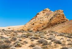 Formação de rocha no vale do incêndio Imagem de Stock Royalty Free