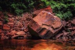 Formação de rocha original imagens de stock royalty free