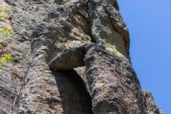 Forma??o de rocha quebrada foto de stock