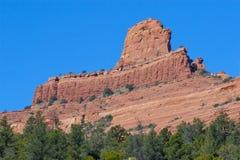 Formação de rocha vermelha Foto de Stock Royalty Free