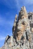 Formação de rocha vertical Picos De Europa, montanhas cantábricas, S Fotos de Stock